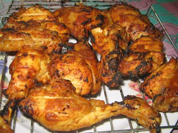 Resep ayam bakar pedas