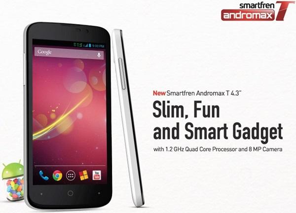 Dua Android Smartfren Terbaik Dibawah 1,5 Juta